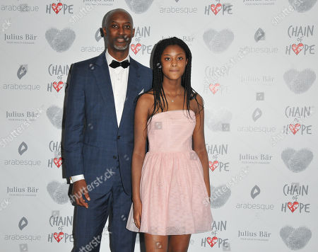 Dalton Grant and his daughter