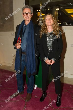 Thierry Lhermitte and his wife Helene
