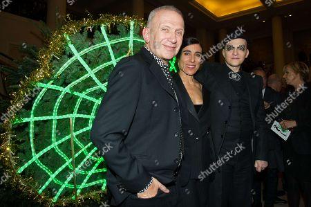 Jean Paul Gaultier, Bianca Li and Ali Mahdavi