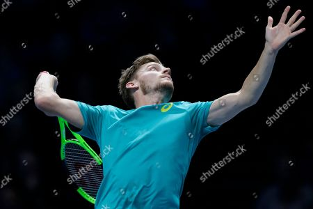 Editorial picture of Britain Tennis ATP Finals, London, United Kingdom - 18 Nov 2017