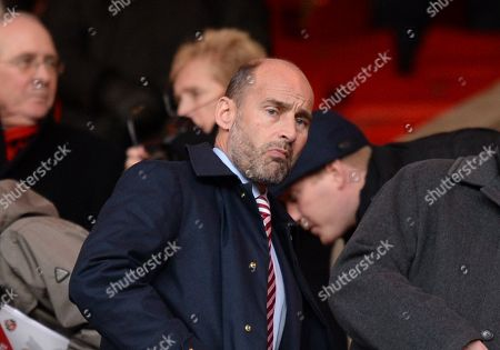 Martin Bain Chief Executive of Sunderland takes his seat