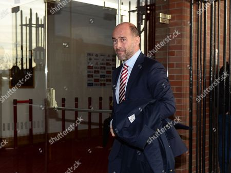 Stock Photo of Martin Bain Chief Executive of Sunderland arrives at Stadium of Light