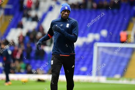 Birmingham City midfielder Cheikh N'Doye (17) during the EFL Sky Bet Championship match between Birmingham City and Nottingham Forest at St Andrews, Birmingham