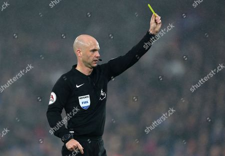 Referee Andy Taylor
