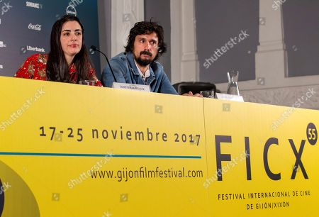 Constanza Novick and Lisandro Alonso