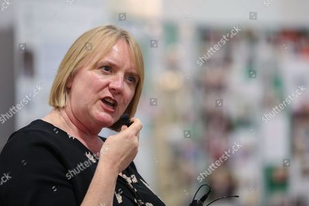 Stock Image of Joanne McCartney AM, Deputy Mayor of London for Education and Childcare speaking at the event