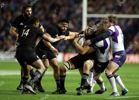 Editorial photo of Britain Rugby Scotland New Zealand, Edinburgh, United Kingdom - 18 Nov 2017