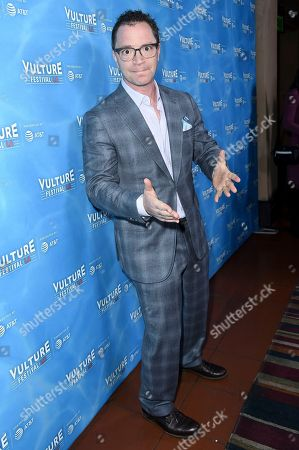 """Joshua Malina attends the 2017 Vulture Festival Los Angeles """"Scandal: The Final Season"""" at the Hollywood Roosevelt Hotel, in Los Angeles"""