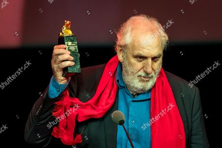 US director Phillip Noyce receives the Lifetime Achievement Award for Directing during the closing ceremony during the 25th Camerimage International Film Festival 2017 in Bydgoszcz, Poland, 18 November 2017.