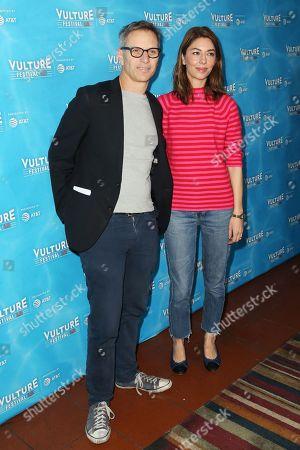 Adam Moss and Sofia Coppola
