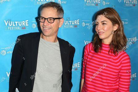Stock Photo of Adam Moss and Sofia Coppola