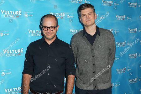 Damon Lindelof and Michael Schur