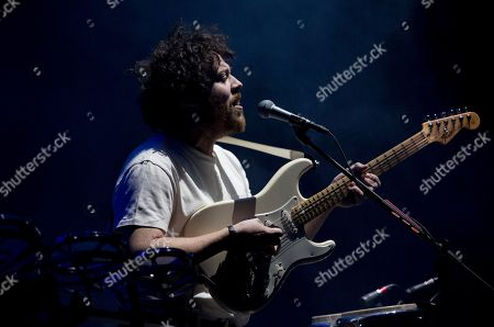 Stock Photo of Joseph Mount of the British electronic music group Metronomy performs during the Corona Capital music festival in Mexico City
