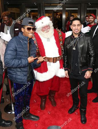 Bryshere Y. Gray & Danny Garcia & Santa Clause