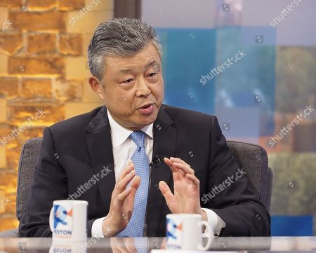 Stock Photo of Chinese Ambassador to the UK Liu Xiaoming