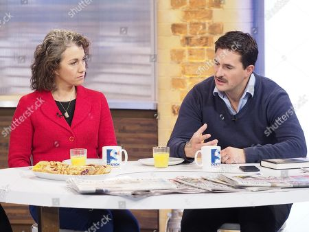 Sarah Champion MP and Johnny Mercer MP