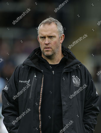 Exeter Chiefs Assistant Coach, Robin Hunter during the Aviva Premiership match between Exeter Chiefs and Harlequins at Sandy Park on November 19th 2017 , Exeter, Devon (