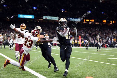 Editorial picture of Redskins Saints Football, New Orleans, USA - 19 Nov 2017
