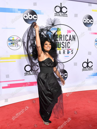 Editorial picture of American Music Awards, Arrivals, Los Angeles, USA - 19 Nov 2017