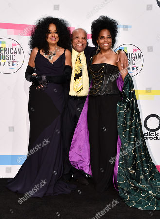 Diana Ross, Berry Gordy and Rhonda Ross Kendrick