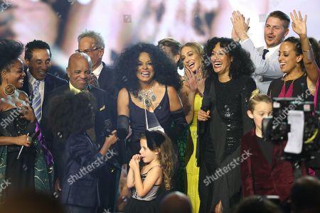 Editorial image of American Music Awards, Show, Los Angeles, USA - 19 Nov 2017