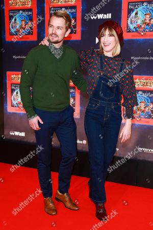 Isabell Horn mit partner Jens Ackermann