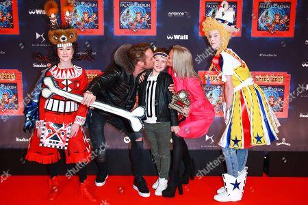 Nico Schwanz mit Ex-Frau Juliett Giegler and Sohn Damian
