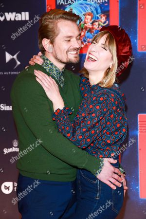 Stock Picture of Isabell Horn mit partner Jens Ackermann