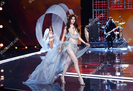 Editorial photo of Victoria's Secret Fashion Show, Runway, Shanghai, China - 20 Nov 2017