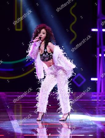 Editorial picture of Victoria's Secret Fashion Show, Runway, Shanghai, China - 20 Nov 2017