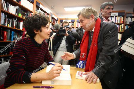 Editorial photo of Alice Zeniter 'Le Monde' book signing, Alencon, France - 19 Nov 2017