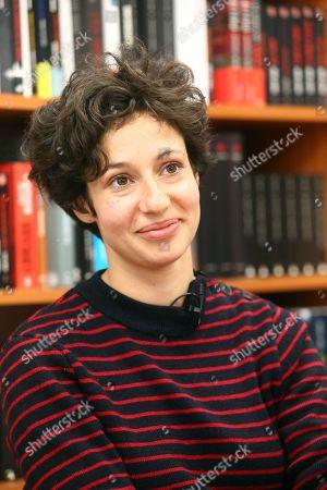 Stock Photo of Alice Zeniter
