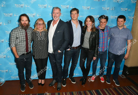 Will Forte, Nicole Sullivan, Michael McDonald, Bill Lawrence, Christa Miller, Chris Miller and Phil Lord