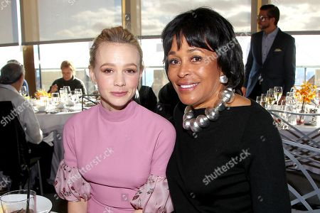 Carey Mulligan and Faye Wattleton