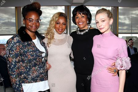 Dee Rees (Director), Mary J Blige, Faye Wattleton and Carey Mulligan