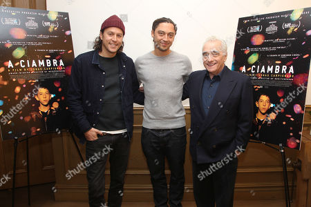Cary Fukunaga, Jonas Carpignano (Director) and Martin Scorsese (Exec. Producer)