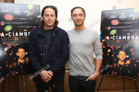 Cary Fukunaga and Jonas Carpignano (Director)