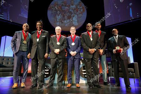 Editorial image of National Collegiate Basketball Hall of Fame, Kansas City, USA - 19 Nov 2017