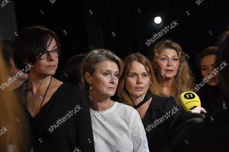 Stock Image of Kajsa Ernst, Lena Endre, Helena af Sandeberg, Ing-Marie Carlsson