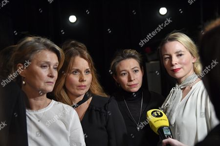 Lena Endre, Helena af Sandeberg, Frida Hallgren, Julia Dufvenius