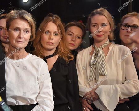 Editorial image of #SilenceAction, Presentation, Sodra Theatre, Stockholm, Sweden - 19 Nov 2017