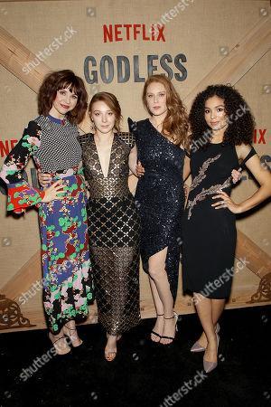 Audrey Moore, Kayli Carter, Christiane Seidel, Jessica Sula