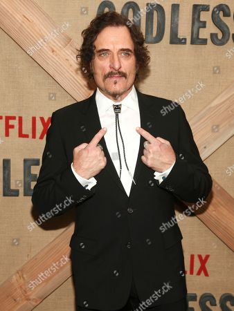 """Kim Coates attends the premiere of Netflix's """"Godless"""" at Metrograph, in New York"""