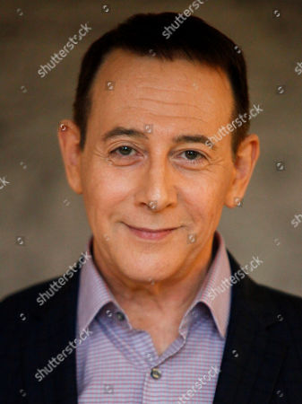 "Stock Picture of Actor Paul Reubens participates in AOL's BUILD Speaker Series to discuss his new film, ""Pee-wee's Big Holiday"", at AOL Studios, in New York"