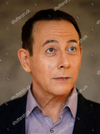 "Stock Image of Actor Paul Reubens participates in AOL's BUILD Speaker Series to discuss his new film, ""Pee-wee's Big Holiday"", at AOL Studios, in New York"