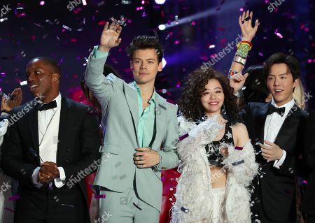 Leslie Odom Jr., Harry Styles, Jane Zhang