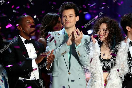 Leslie Odom Jr., Harry Styles and Zhang Liangying