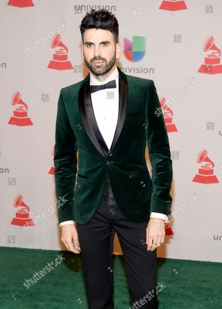 Jomari Goyso arrives at the 15th annual Latin Grammy Awards in Las Vegas. Goyos and Carlos Calderon will join Lourdes Stephen as hosts of Sal y Pimienta, replacing Rodner Figueroa, who was fired for comments he made about first lady Michelle Obama