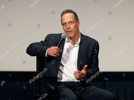 Stock Image of Director Sebastian Junger attends HBO Documentary Films' Which Way Is the Frontline From Here: The Life and Time of Tim Hetherington Los Angeles Premiere, on Thursday, April, 4, 2013 in Los Angeles