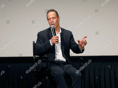 Stock Photo of Director Sebastian Junger attends HBO Documentary Films' Which Way Is the Frontline From Here: The Life and Time of Tim Hetherington Los Angeles Premiere, on Thursday, April, 4, 2013 in Los Angeles